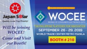 World of Consumer Electronics Expo 2019 (WOCEE) @ BOOTH # 210 at World Trade Center, Pasay City, Metro Manila   Pasay   Metro Manila   Philippines